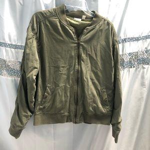 BP.Clothing Olive Green Nordstrom Bomber Jacket